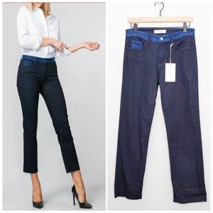 Flying Monkey Black Label Straight Crop Jeans NWT